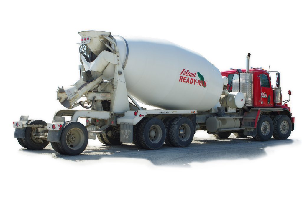 ready-mix concrete truck